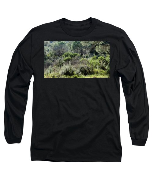 Long Sleeve T-Shirt featuring the photograph Open Space by August Timmermans