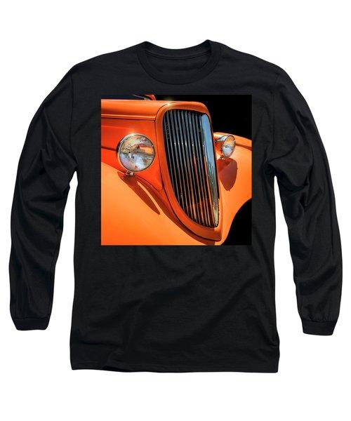 Orange Vision II Long Sleeve T-Shirt