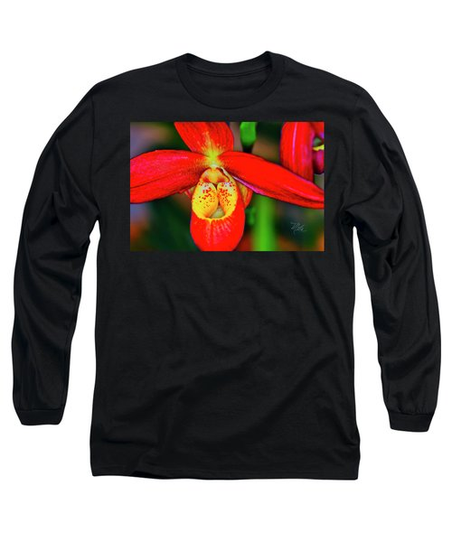 Orchid Study Seven Long Sleeve T-Shirt