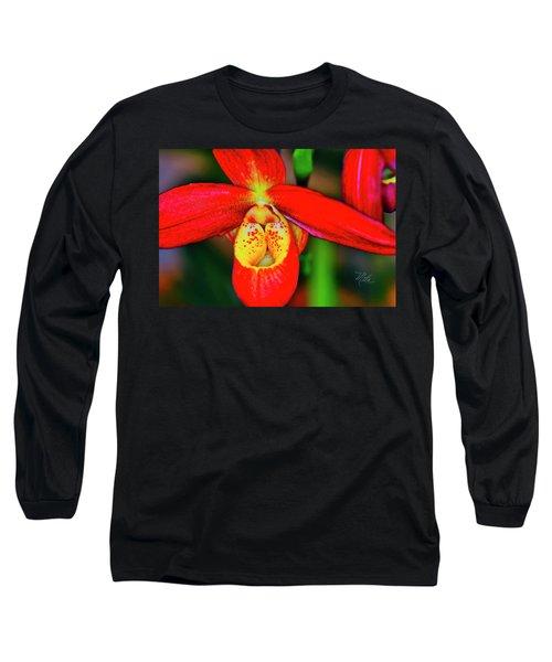 Orchid Study Seven Long Sleeve T-Shirt