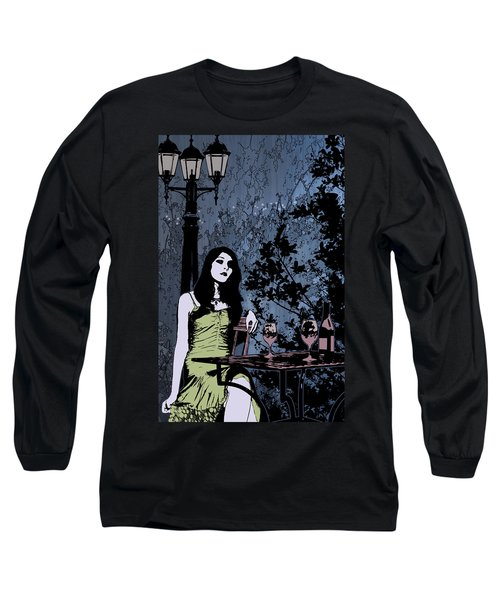 Out At Night Long Sleeve T-Shirt