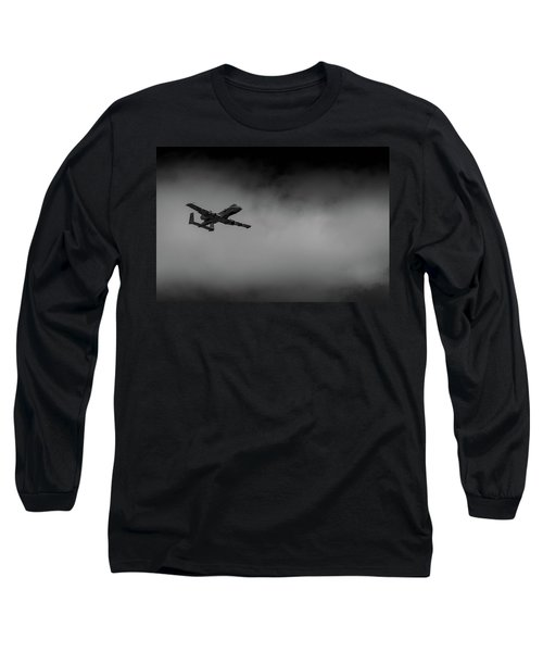 Out Of The Clouds - A-10c Thunderbolt Long Sleeve T-Shirt