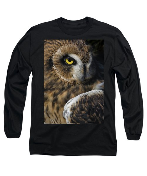 Owl Strikes A Pose Long Sleeve T-Shirt