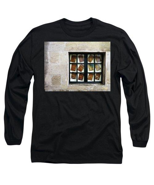 Parchment Panes Long Sleeve T-Shirt