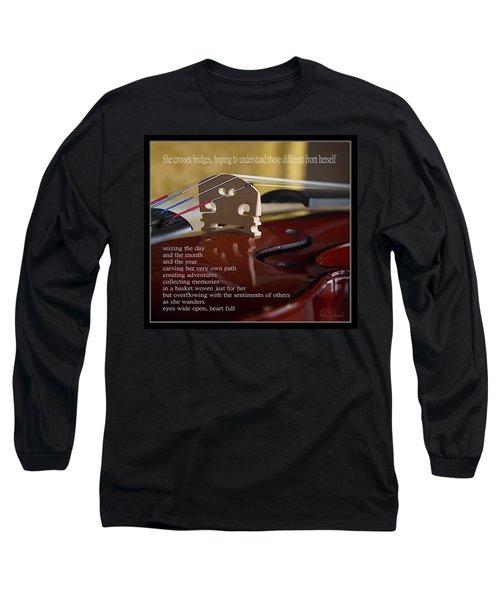 Peace Bridge Long Sleeve T-Shirt