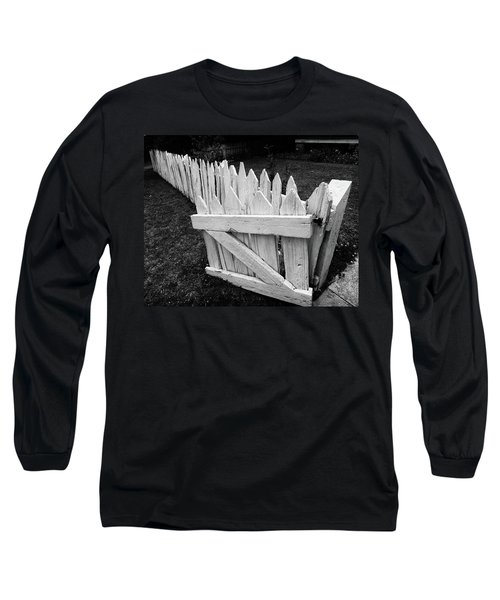 Long Sleeve T-Shirt featuring the photograph Pickett Fence by Jim Mathis