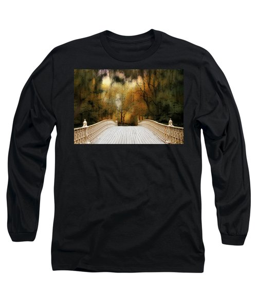Pine Bank Arch In Autumn Long Sleeve T-Shirt