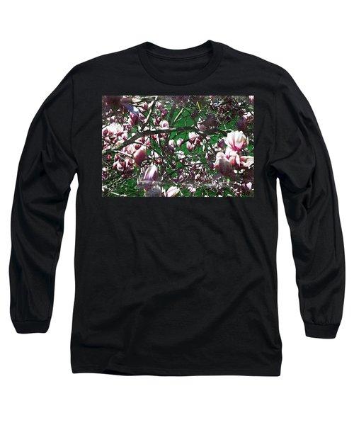 Pink Bush Long Sleeve T-Shirt