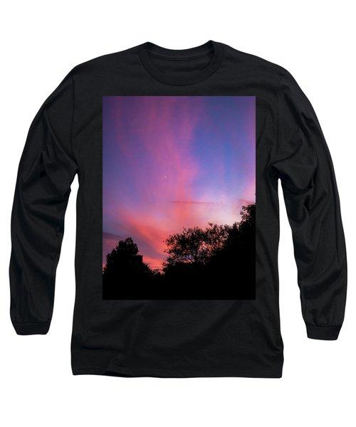 Pink Whisps Long Sleeve T-Shirt