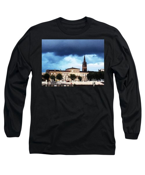 Poking The Storm Long Sleeve T-Shirt
