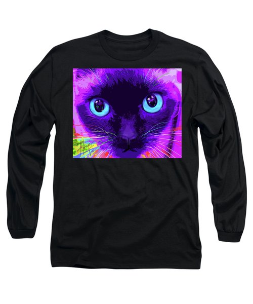 pOpCat Bubble Long Sleeve T-Shirt