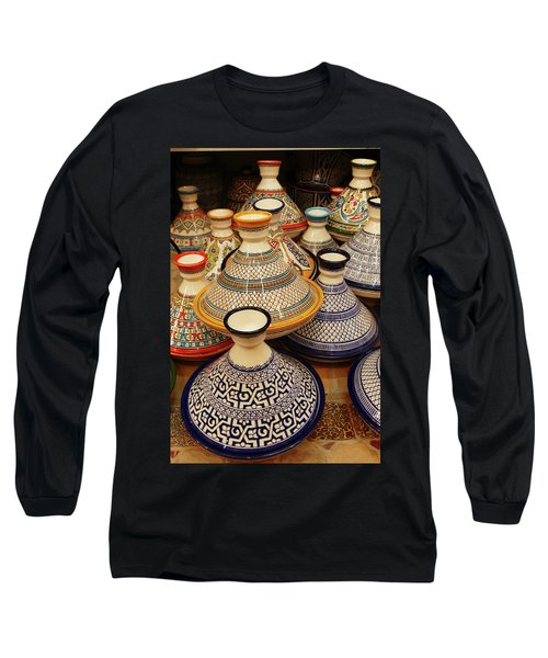Porcelain Tagine Cookers  Long Sleeve T-Shirt