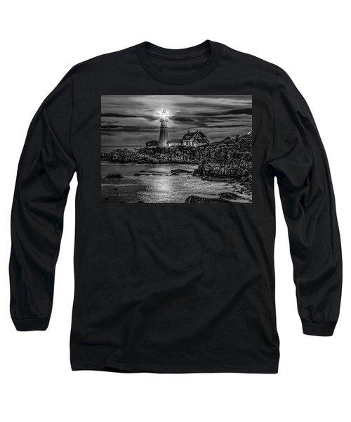 Portland Lighthouse 7363 Long Sleeve T-Shirt