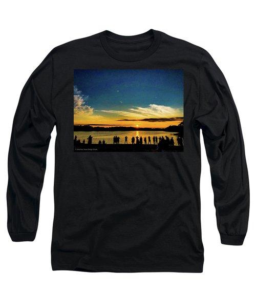 Portland Pauls Sunset Long Sleeve T-Shirt