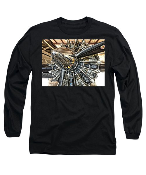 Radial Long Sleeve T-Shirt