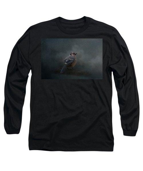 Rainy Day Blues  Long Sleeve T-Shirt