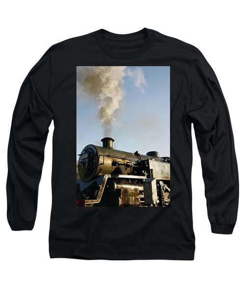 Ramsbottom. East Lancashire Railway. Locomotive 80080. Long Sleeve T-Shirt