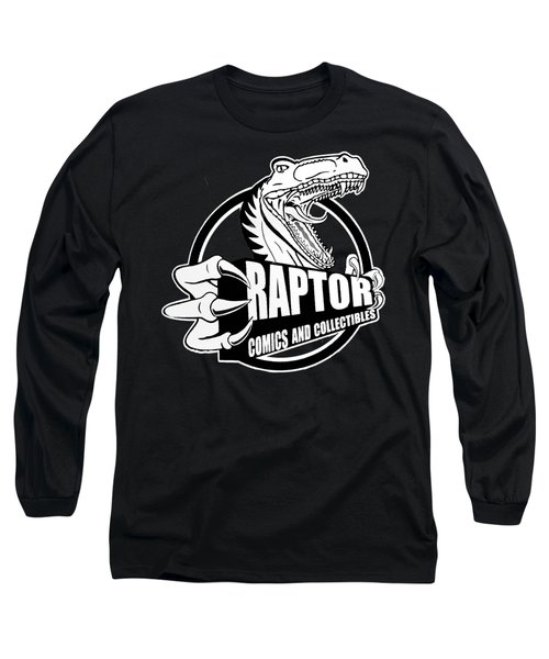 Raptor Comics Black Long Sleeve T-Shirt