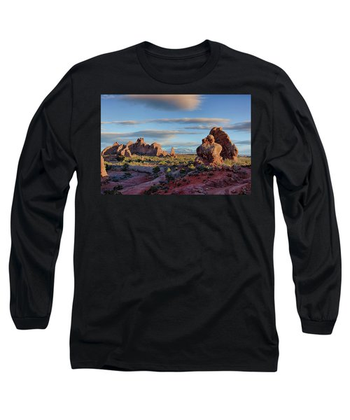 Red Rock Formations Arches National Park  Long Sleeve T-Shirt