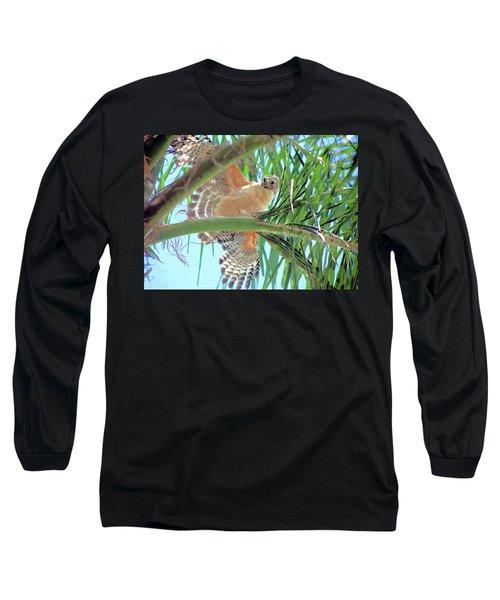 Red-shoulder Hawk Long Sleeve T-Shirt