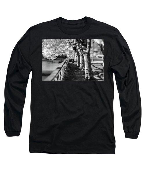 River Lines Long Sleeve T-Shirt