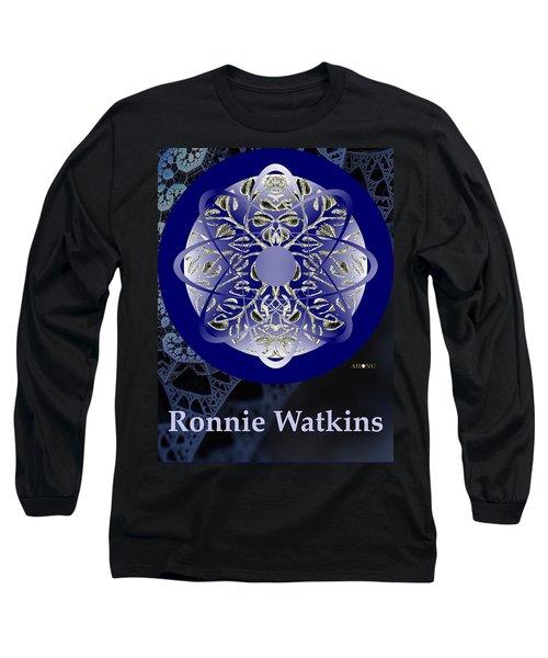 Ronnie Watkins Soul Portrait Long Sleeve T-Shirt