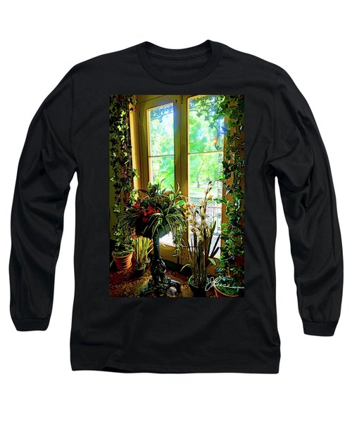 Long Sleeve T-Shirt featuring the photograph Room With A View by Joan Reese
