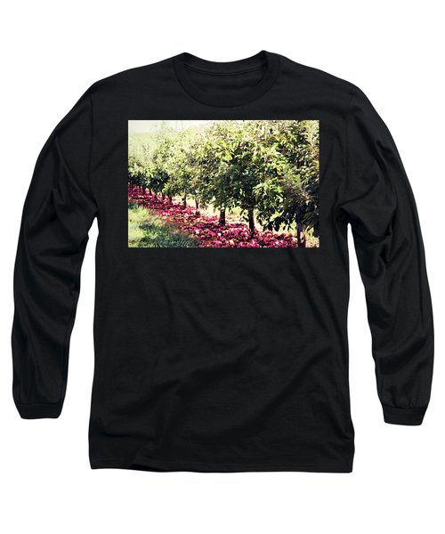 Row Of Red Long Sleeve T-Shirt