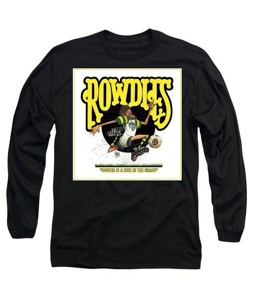 Rowdies Old School Long Sleeve T-Shirt