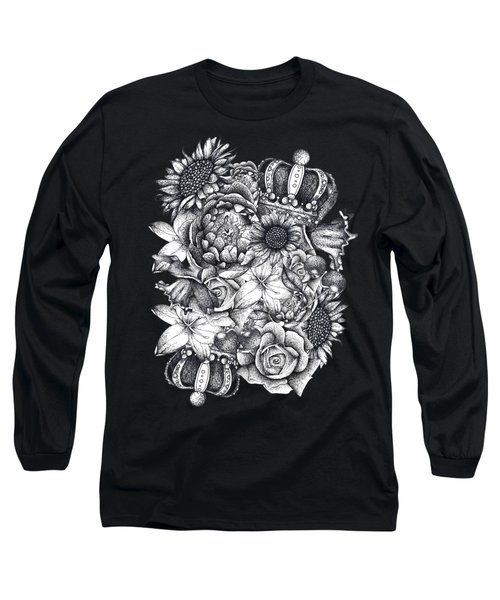 Royal Flowers Long Sleeve T-Shirt