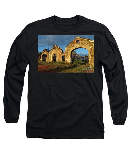 Ruins Of The Abandoned Mine Of Sao Domingos. Portugal Long Sleeve T-Shirt