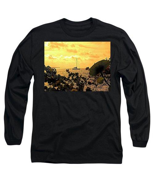 Sail The Manatee River Long Sleeve T-Shirt