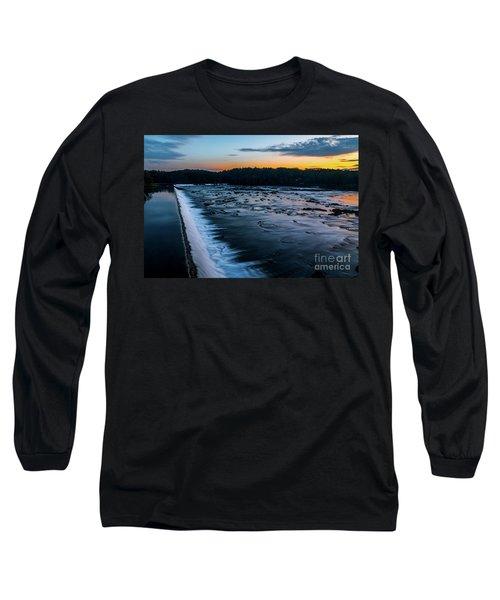 Savannah Rapids Sunrise - Augusta Ga Long Sleeve T-Shirt
