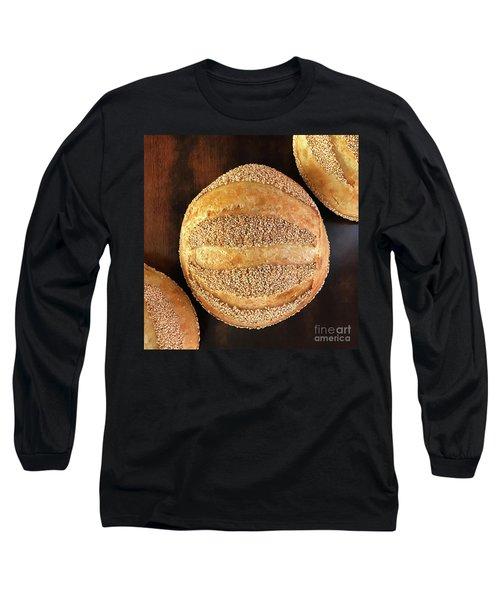 Sesame Seed Stripes 4 Long Sleeve T-Shirt