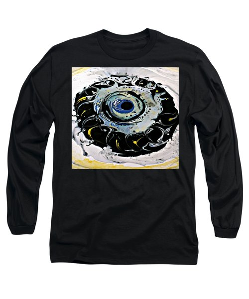 Long Sleeve T-Shirt featuring the painting Sgc.m87  by 'REA' Gallery