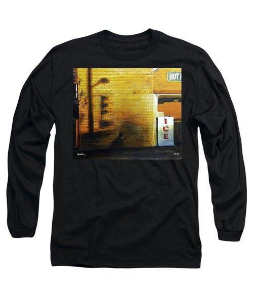Shadows On The Wall Long Sleeve T-Shirt