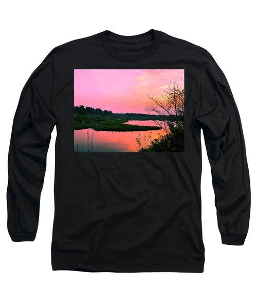 Sitka Sedge Sunset Long Sleeve T-Shirt