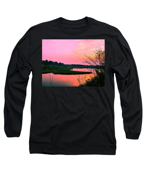 Sitka Sedge Sunset Long Sleeve T-Shirt