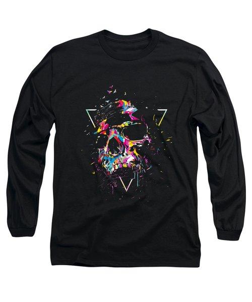 Skull X Long Sleeve T-Shirt