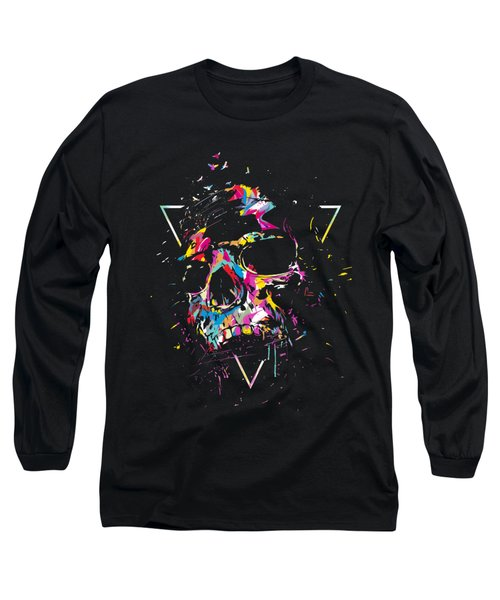 Skull X Long Sleeve T-Shirt