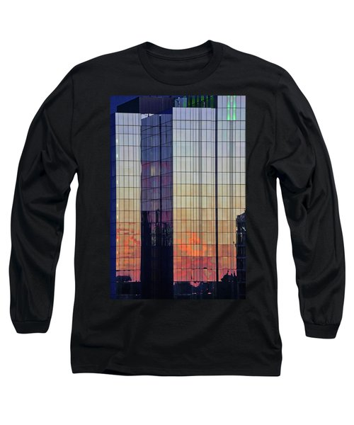 Skyscraper Sunset Long Sleeve T-Shirt