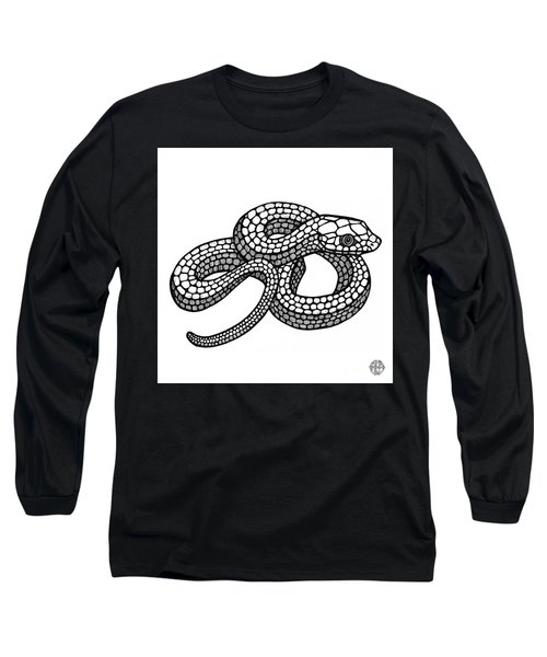 Smooth Green Snake Long Sleeve T-Shirt