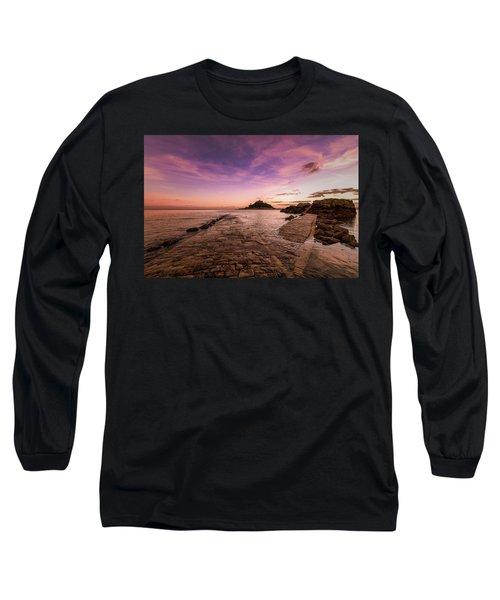 St Michael's Mount - January Long Sleeve T-Shirt