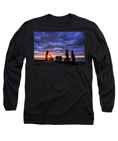 Standing Stone 1 Halibut Pt.  Long Sleeve T-Shirt