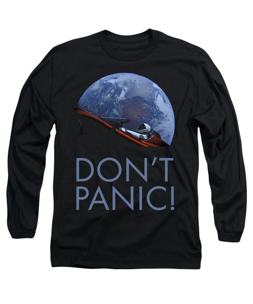 Starman Don't Panic In Orbit Long Sleeve T-Shirt