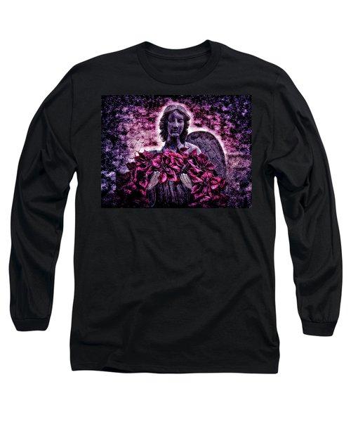Stone Angel Long Sleeve T-Shirt