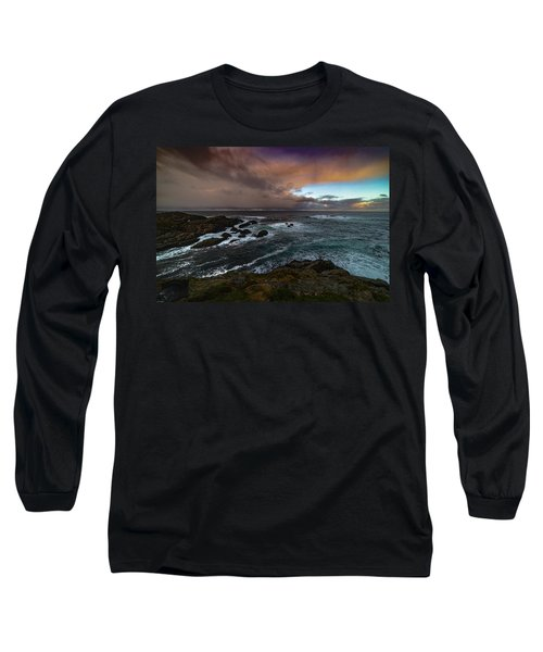 Storm Coastline Long Sleeve T-Shirt