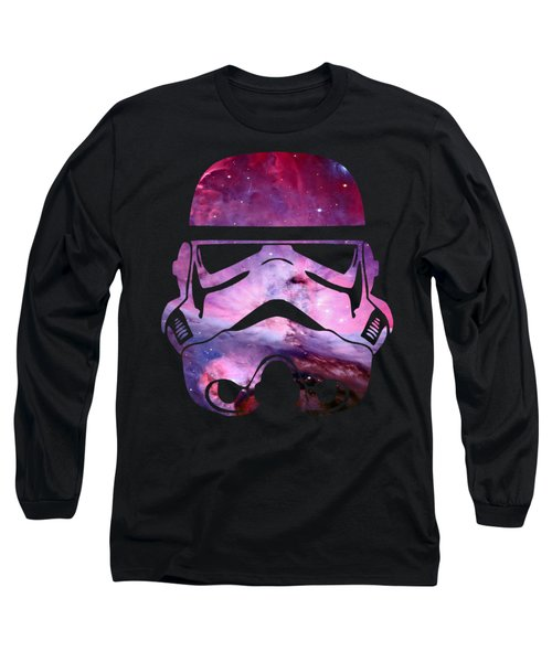 Storm Trooper Nebula Long Sleeve T-Shirt