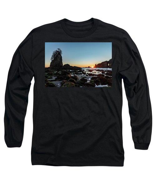 Sunburst At The Beach Long Sleeve T-Shirt