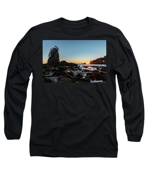 Sunburst At The Beach Long Sleeve T-Shirt